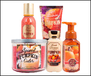 FREE Bath & Body Work Samples