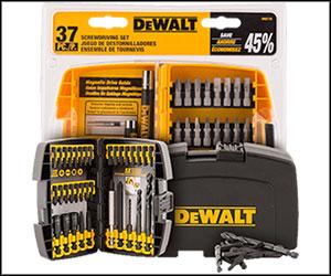 Get FREE DeWalt Tools